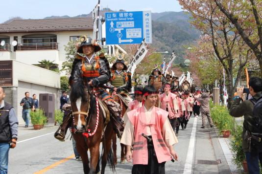 武田二十四将騎馬行列 騎馬隊