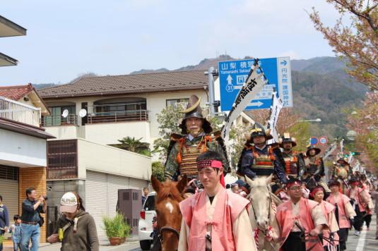武田二十四将騎馬行列 板垣信方