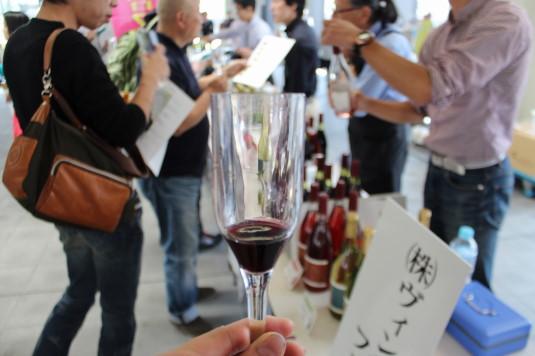 甲府ワイン組合フェア グラス