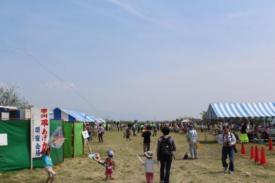 凧上げ祭り 会場