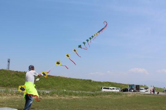 凧上げ祭り 連凧