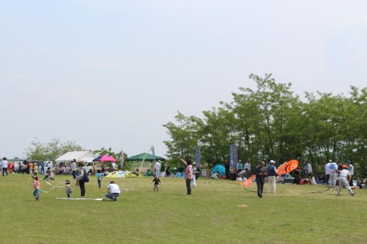 凧上げ祭り 凧上げ会場
