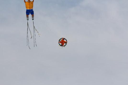凧上げ祭り 凧 風車