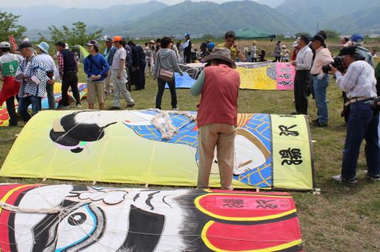 凧上げ祭り 絵柄コンテスト 自由
