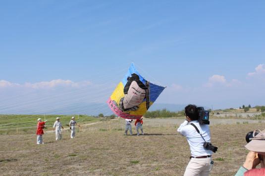 凧上げ祭り コンテスト 歌舞伎