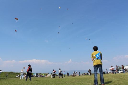 凧上げ祭り 外観