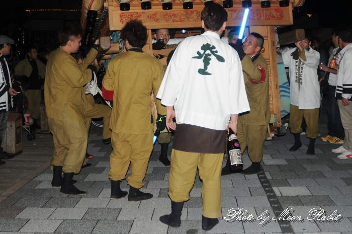 登道だんじり(屋台) 祭り装束 西条祭り