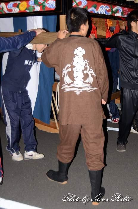魚屋町だんじり(屋台) 祭り装束 西条祭り