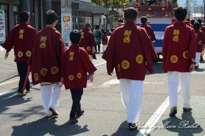 本町御供だんじり(本町屋台) 祭り装束 西条祭り