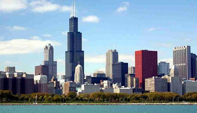 Chicago 町並み