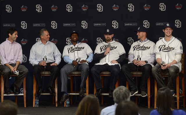 four new padres player 2015