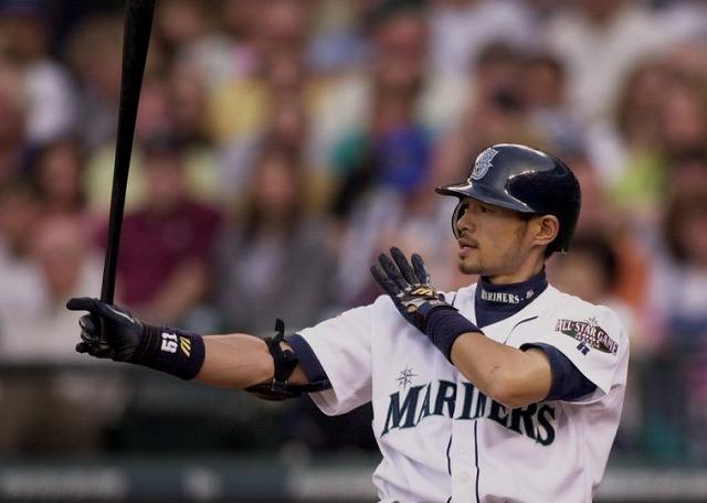 Ichiro 2001年留学