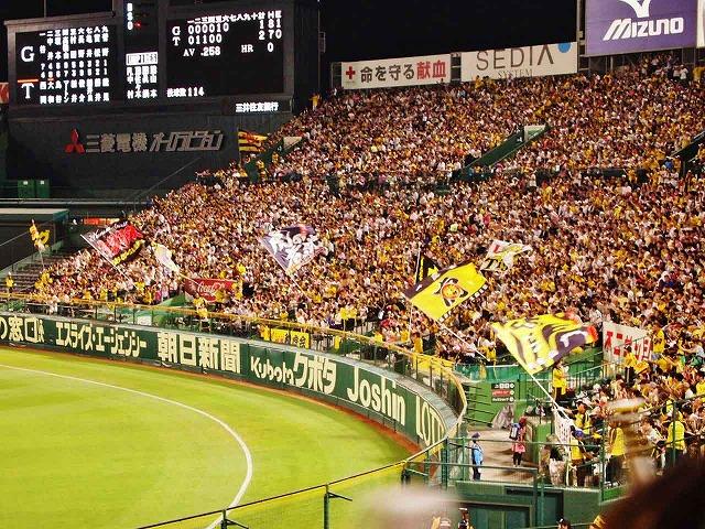 甲子園球場 阪神ファン