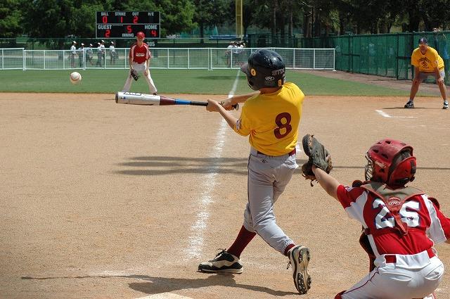 kids Baseball タラスコ幼少期