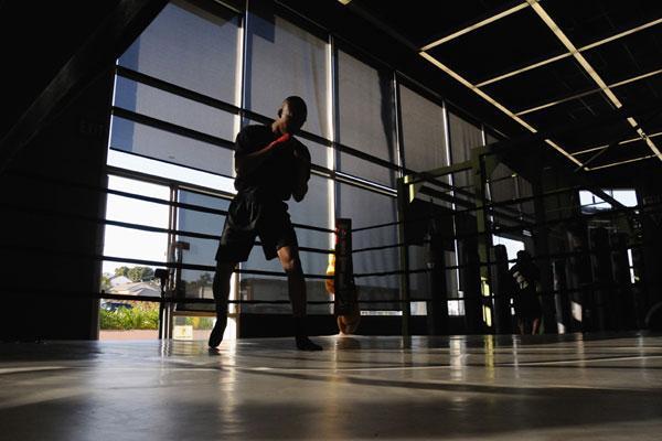 boxing training Yさん