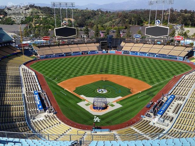 Dodgers Stadium ベースボールチャンネル