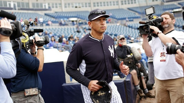 Alex Rodriguez 2015 New York Yankees spring training