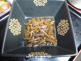 150423蕗の山椒炊き