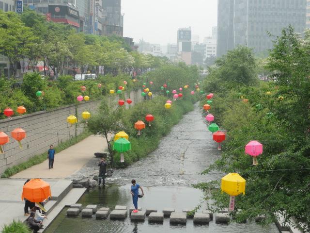 2015年5月15日 清渓川
