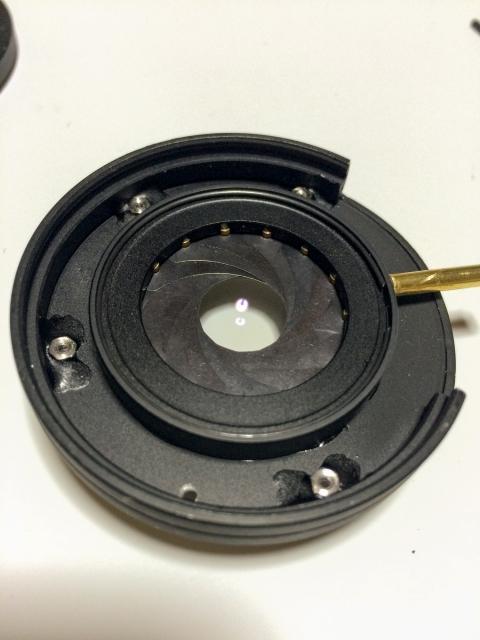 ROKKOR-QF 40mm F1.7改 組立19