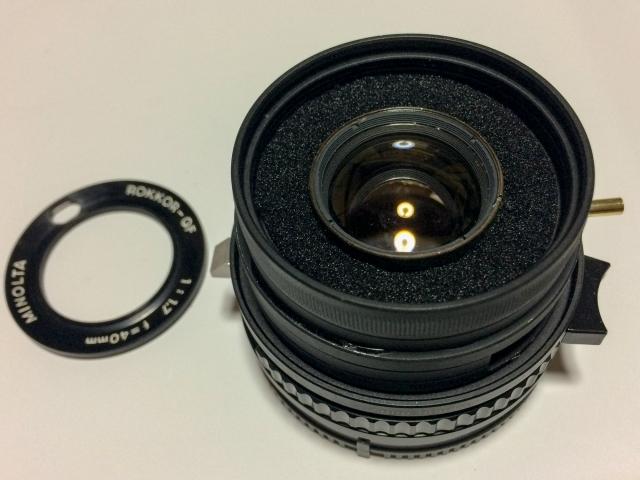 ROKKOR-QF 40mm F1.7改 組立26