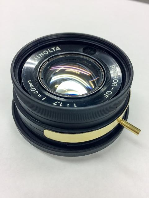 ROKKOR-QF 40mm F1.7改 組立29