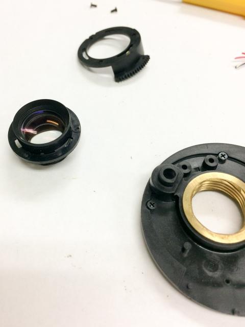 HD-R改造レンズ使用部材