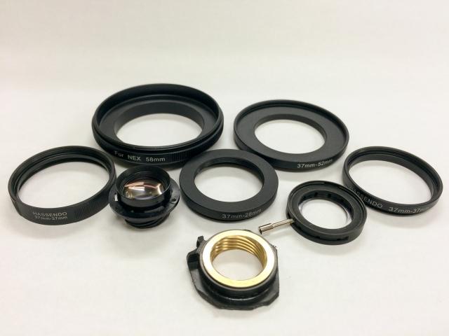 HD-R改造レンズ使用部材2