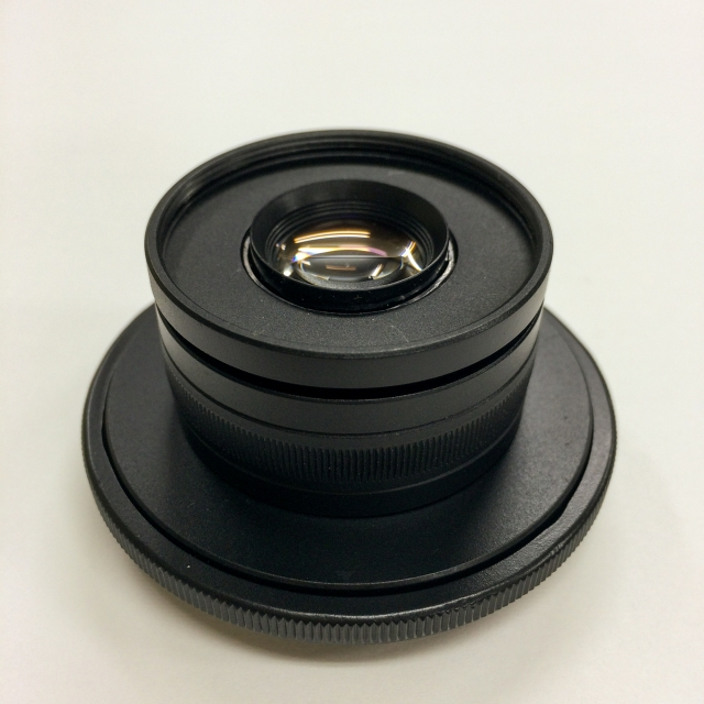 HD-R改造レンズ仮組2