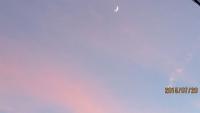 今夕のお月さま!!