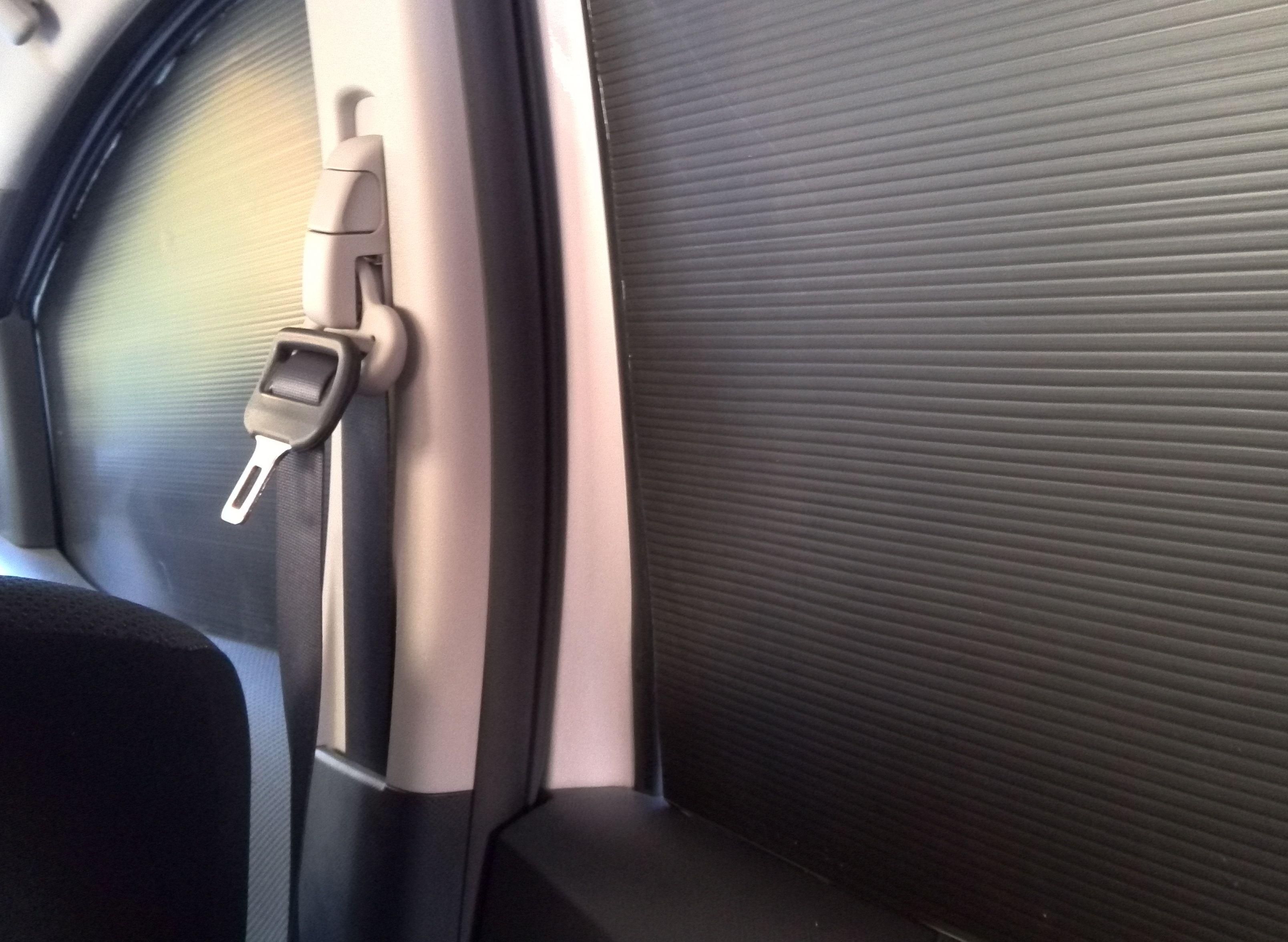 車内遮光板状況