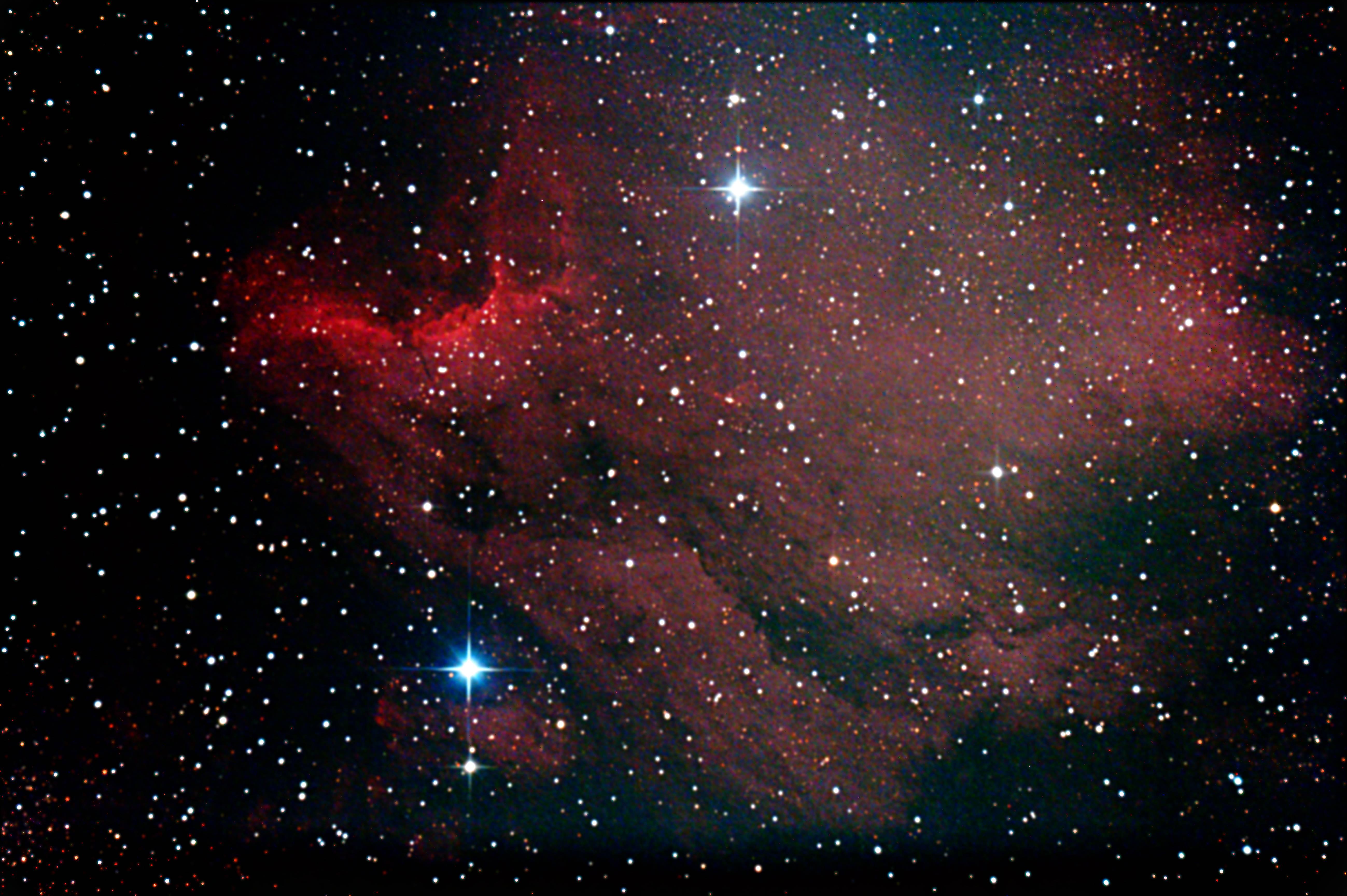 ペリカン星雲2min20150329