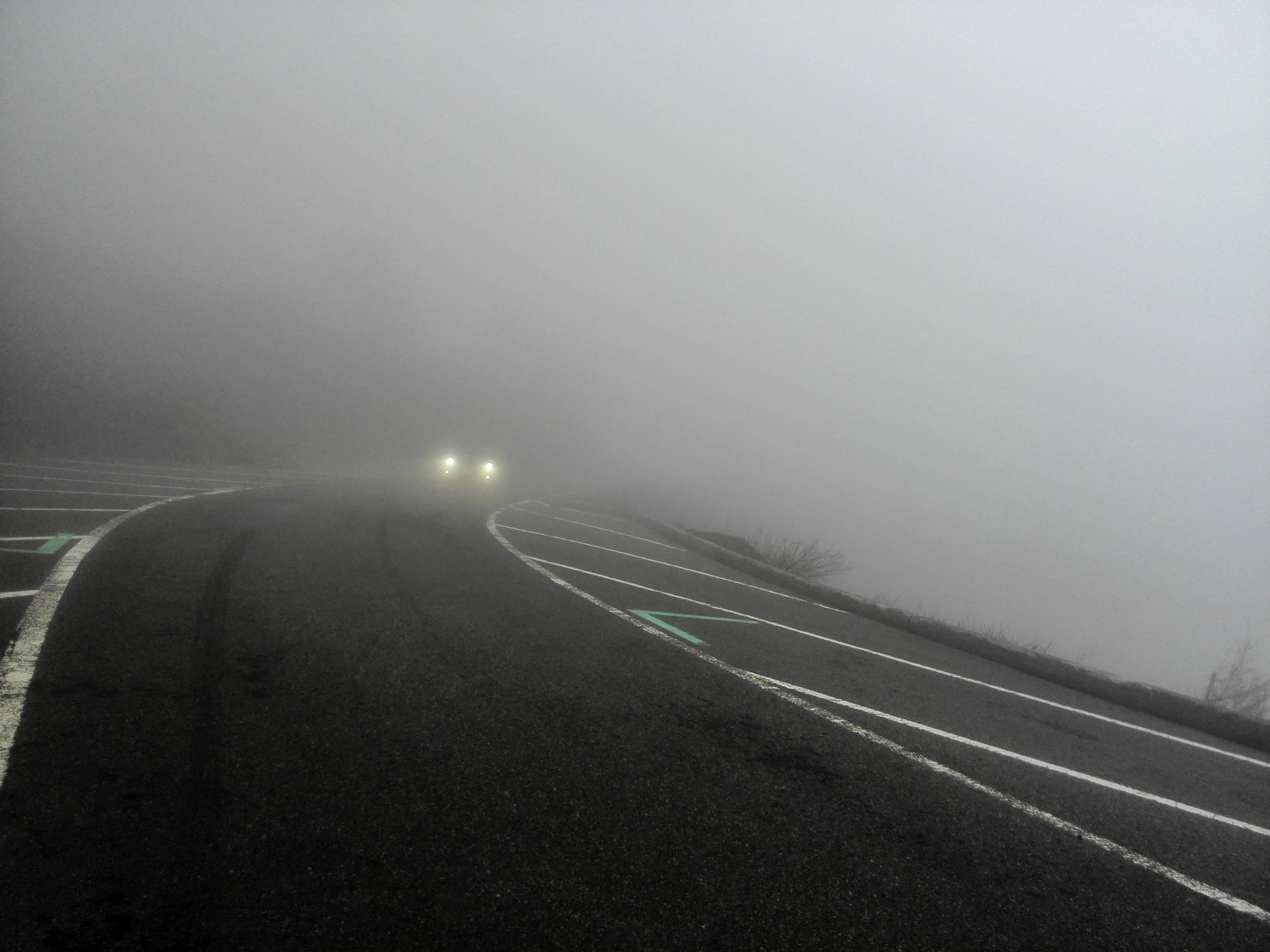 新宮口五合目霧の様子