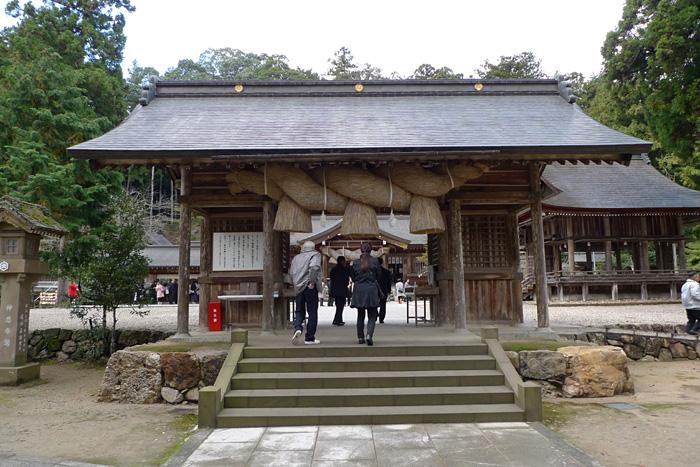 出雲の神社巡り  熊野大社  5