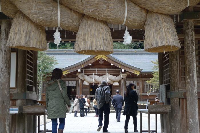 出雲の神社巡り  熊野大社  6