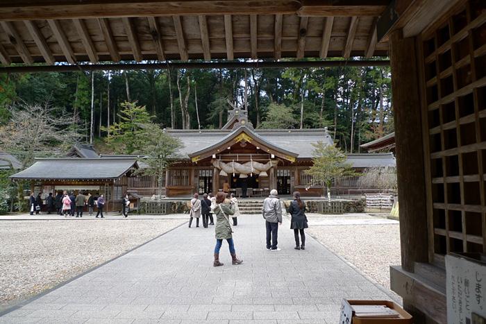 出雲の神社巡り  熊野大社  7