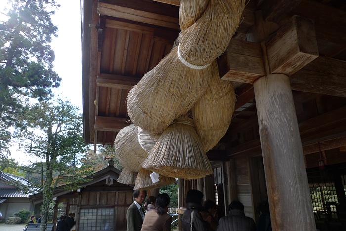 出雲の神社巡り  熊野大社  10