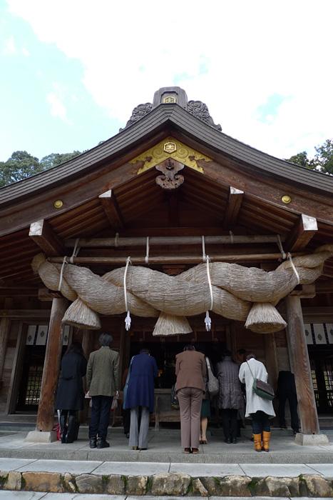 出雲の神社巡り  熊野大社  11