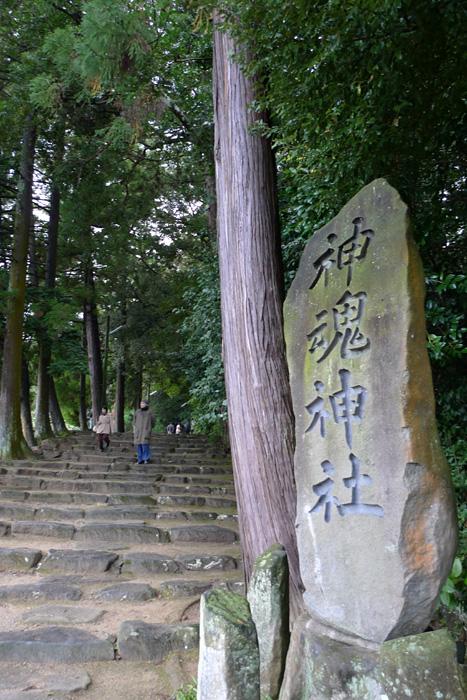 出雲の神社巡り  神魂神社  2