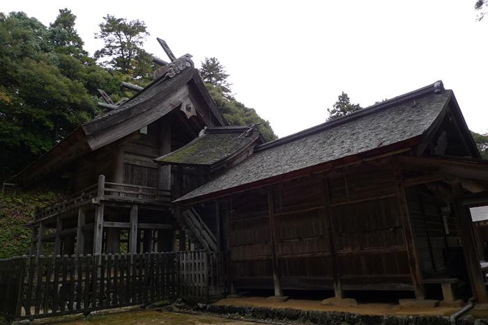 出雲の神社巡り  神魂神社  4