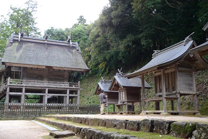 出雲の神社巡り  神魂神社  11