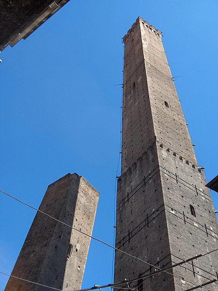 ボローニャ市の斜塔