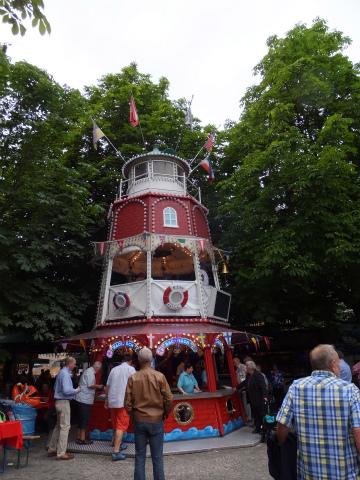 揚げ魚の塔
