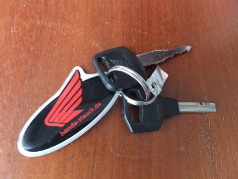 バイクの鍵