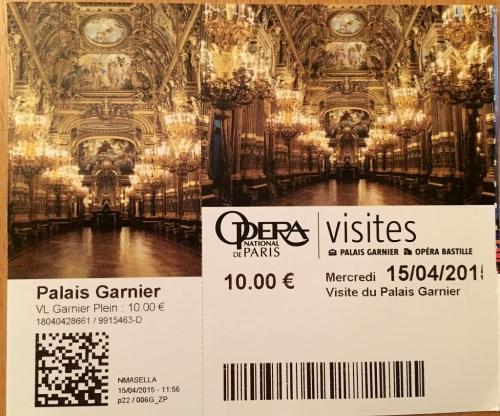 オペラ座チケット