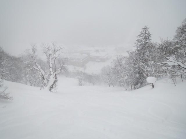 12月30日 おまけ斜面
