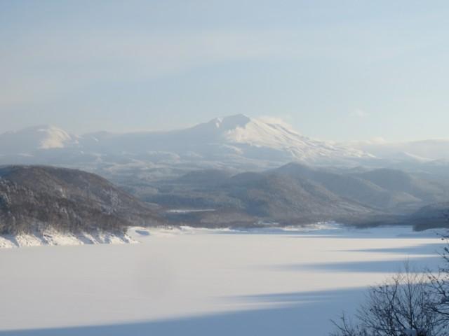 01月01日 旭岳丸見え