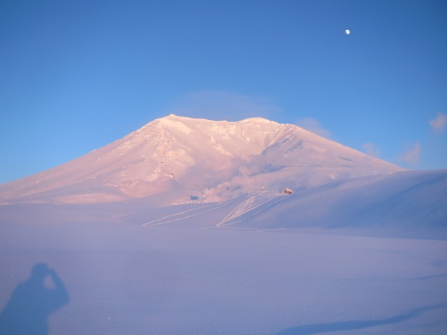 01月01日 夕暮れの旭岳