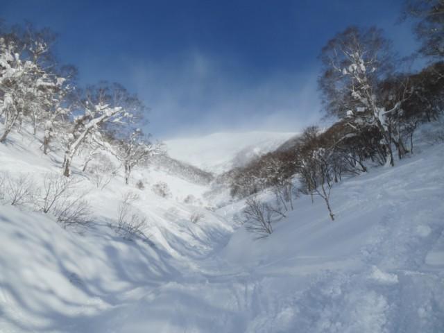01月02日 アンヌプリ南峰が見える