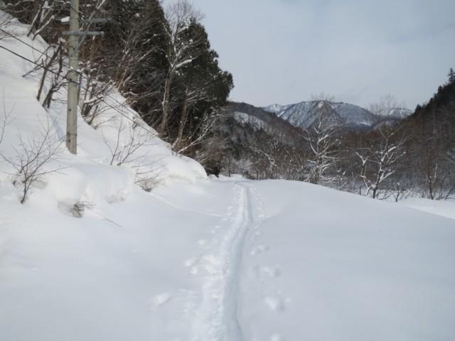 2月11日 白馬岳線